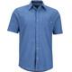 Marmot M's Windshear SS Flannel Shirt Varsity Blue